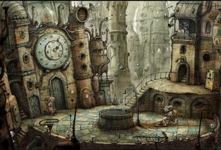 Скриншоты Linux версии игры Machinarium