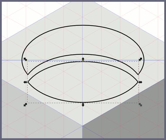 Inkscape: получаем два независимых контура
