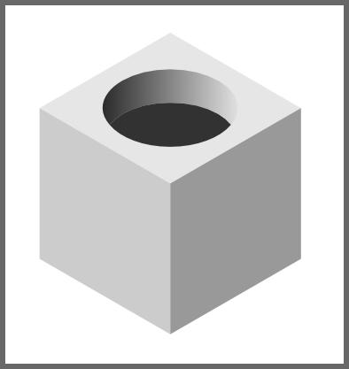 Inkscape: изображение отверствия