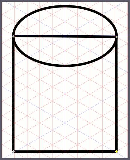 Inkscape: добавляем контур