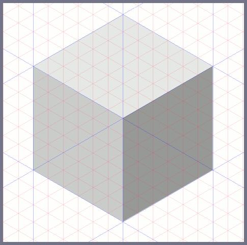 Inkscape: рисуем последнюю грань куба
