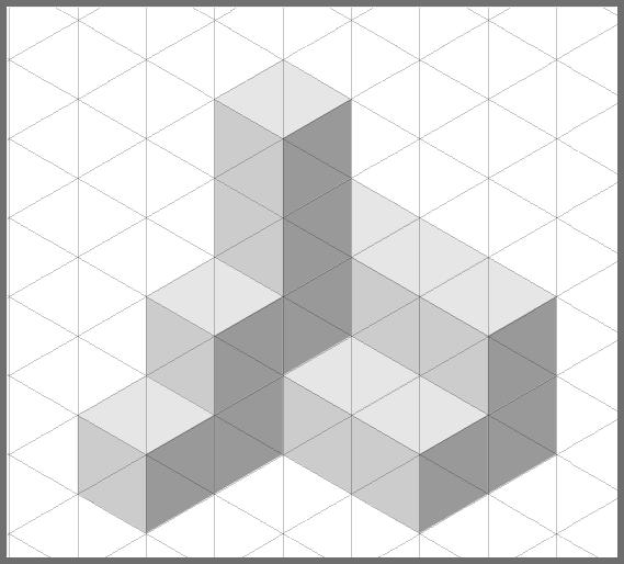 Inkscape: собираем объект из кубиков