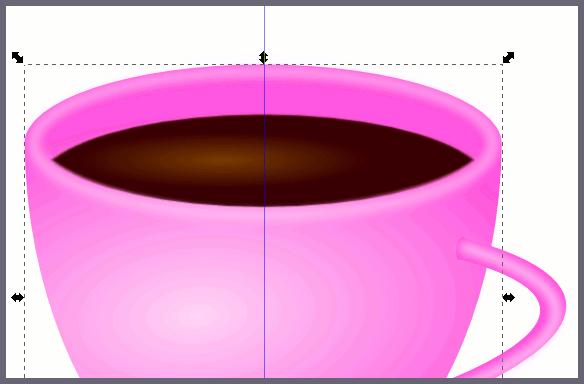 Inkscape: Отрисовка кофе