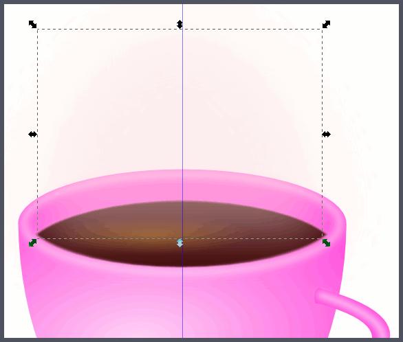 Inkscape: Облачко пара