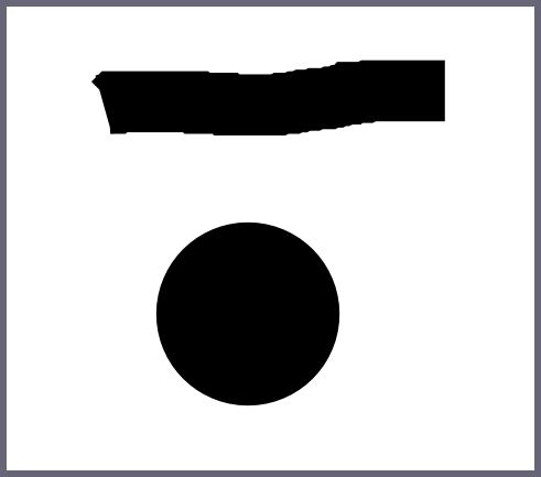 Обводка и точка