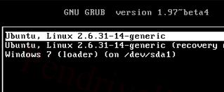 Восстановление загрузчика GRUB2