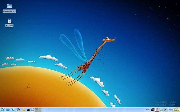 логотип Simply Linux